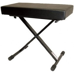 Profile KDT-5505 Banc Piano Ajustable avec Base en X