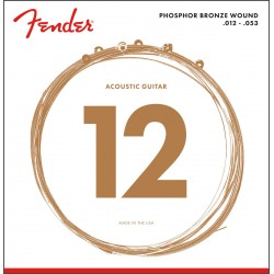 Fender 60L Phosphore Bronze 12-53