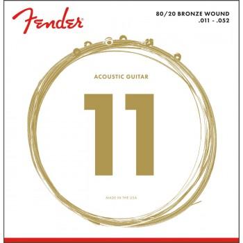 Fender 70CL 80/20 Bronze 11-52