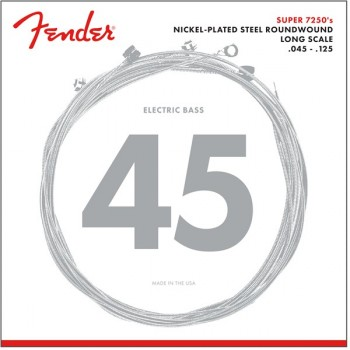 Fender 7250-5M Nickel Plated Steel Bass 45-125