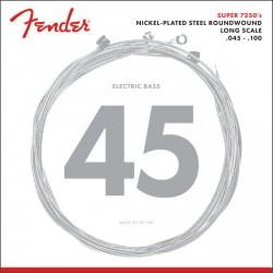 Fender 7250ML Bass Nckl RW LS 45-100