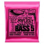 Ernie Ball Bass 5ST Super Slinky 40-125
