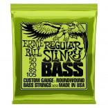 Ernie Ball Bass 4ST Reg Slinky 50-105 Lime