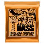 Ernie Ball Bass 4ST Hybrid Slinky 45-105
