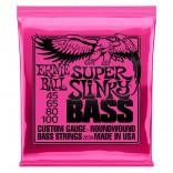 Ernie Ball Bass 4ST Super Slinky 45-100