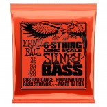 Ernie Ball Bass 6ST Slinky 32-130
