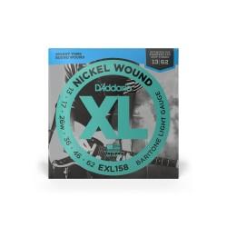 D'Addario XL Nickel Baritone Low Tune