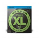D'Addario XL Bass Sft/Top R/Btm Long 45-105