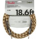Fender Pro Series Instrument Cable 18.6' Desert Camo