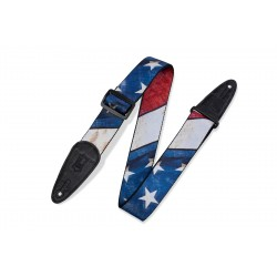 """Levy's Strap 2"""" Sublimation USA Flag"""