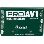 Radial PRO AV1 - Direct Box